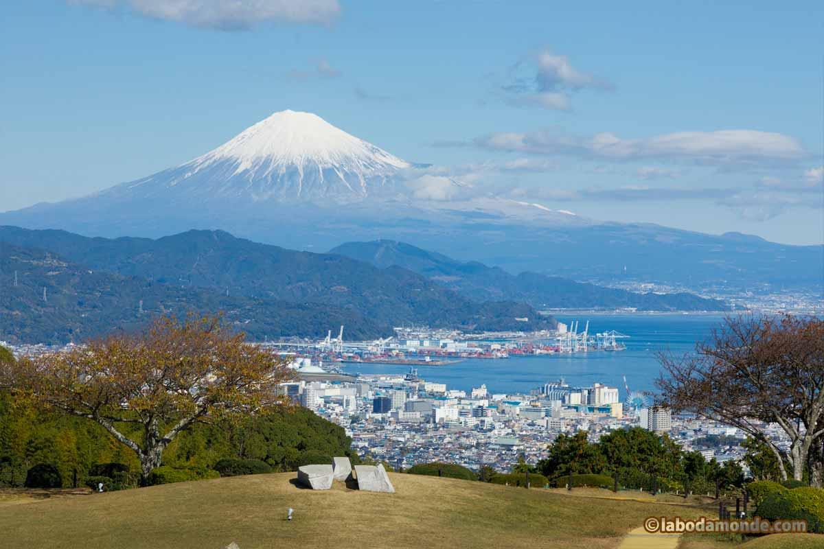 日本平ホテルからの富士山ビュー