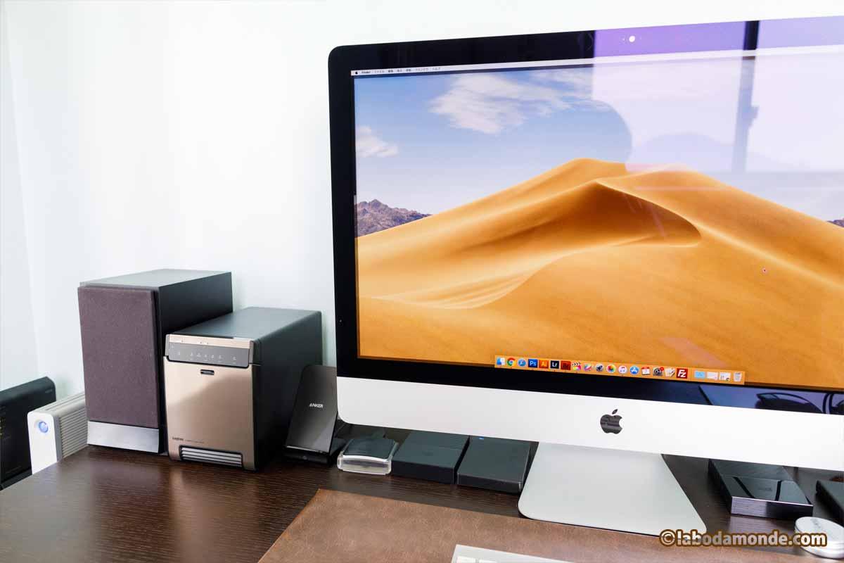Macとの並び