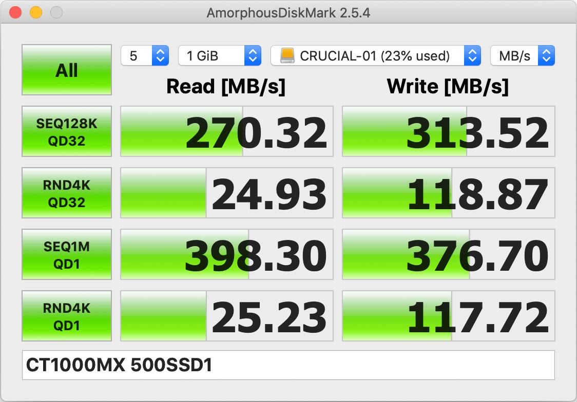 LHR-4BNHUC + Crucial SSD 1TB (MX500)